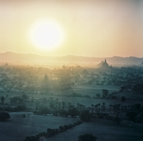 Sunset over Bagan's Temples, Myanmar
