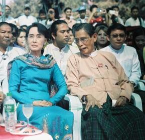 Myanmar Presidential Candidate, Madam Aung San Suu Kyi
