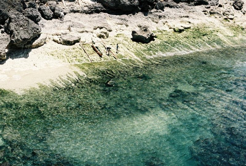 Balangan fishermen in Bali