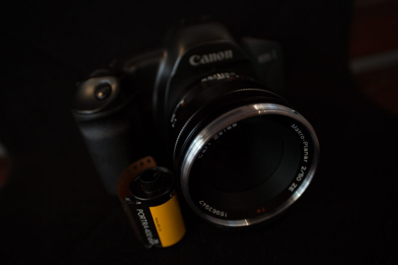 EOS1V with Zeiss Makro Planar 50mm f/2